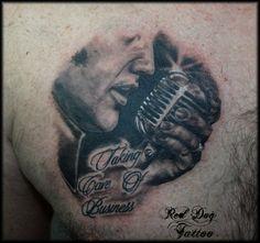 Elvis Silhouette Tattoo .....<3