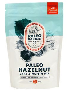 Shipping is 100% Free! Our easy-to-make and versatile Hazelnut Cake and Muffin Mix can be used to create a wide variety of delicious paleo treats. Add fresh lemon juice and poppy seeds for sunny lemon