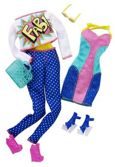 Barbie Day Looks Fashion Pack #3