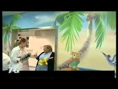 Sally Galotti decora sale chirurgia pediatrica al bufalini