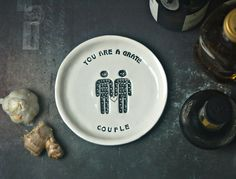 Kitchen Grater Plate  Foodie Couple  Foodie by TheBabyHandprintCo
