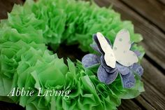 Tulle and Butterfly Spring Wreath - Craftsmile