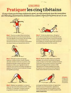Yoga is better than jogging - Quotidienne pratique : les 5 tibétains Yoga Fitness. Introducing a breakthrough program that melts away flab and reshapes your body in as little as one hour a week! Yoga Inspiration, Fitness Inspiration, Yoga Fitness, Sup Yoga, Yoga Gym, Qi Gong, Tai Chi, Yoga Meditation, Yoga Sequences