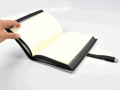 USB notebook.