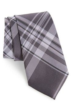 Free shipping and returns on Calibrate Plaid Woven Tie at Nordstrom.com. Handsome plaid marks a slim tie woven from a lustrous silk blend.