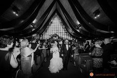 Wedding at St. Hugh Catholic Church