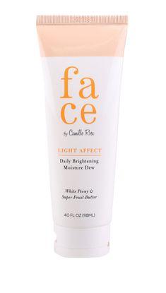 LIGHT AFFECT- Daily Brightening Facial Moisturizer – Camille Rose Naturals #CelluliteCream