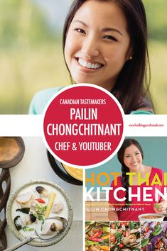 Canadian Tastemaker Pailin Chongchitnant of Hot Thai Kitchen Thai Recipes, Soup Recipes, Great Recipes, Youtube Cooking Channels, Tasty Thai, Canadian Food, Crabs, Savoury Dishes, Scallops