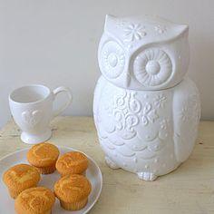 Owl Storage Jar - storage & organising