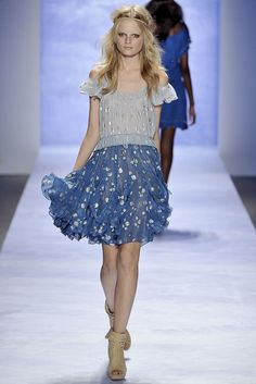 Rebecca Taylor Spring 2009 Ready-to-Wear Fashion Show - Hanne Gaby Odiele
