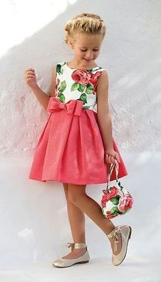 Tienda Moda Mascotas infantil y juvenil Little Dresses, Little Girl Dresses, Girls Dresses, Flower Girl Dresses, Summer Dresses, Toddler Dress, Baby Dress, Toddler Girl, Dress Set