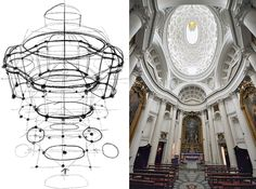 """Mental Canvas"" is a conceptual-design tool that allows users to combine several 2-D drawings and then explore the assembled sketches by panning, tilting, and zooming. The program's development team used it to analyze San Carlo alle Quattro Fontane, a 17th-century church by Francesco Borromini, in Rome."