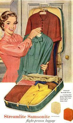 Vintage Samsonite ad