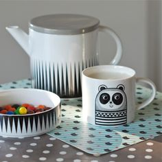 Mug Panda Jane Foster- deco-graphic.com
