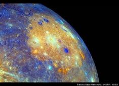 Mercury Volcanoes