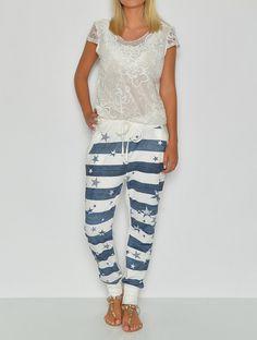 Parissa sweatpants hvid - NYHEDER