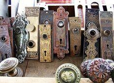 A vintage doorknob for every door! jetsettimes.com