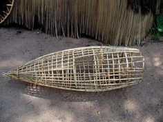 Wooden fish trap
