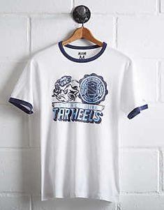 reputable site 11060 2d60e Tailgate Men s UNC Tar Heels Ringer T-Shirt - Free Returns Tar Heels, Fan