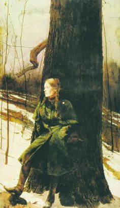 for that caped, belted, loden coat--Andrew Wyeth, Cape Coat (Helga Pictures), Andrew Wyeth Prints, Andrew Wyeth Paintings, Andrew Wyeth Art, Jamie Wyeth, Nc Wyeth, Art For Art Sake, Figure Painting, Oeuvre D'art, American Artists