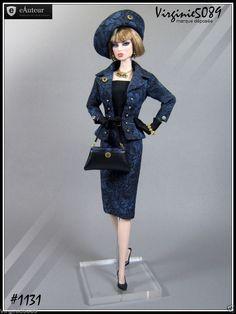 Tenue Outfit Accessoires Pour Barbie Silkstone Vintage Fashion Royalty 1131 | eBay