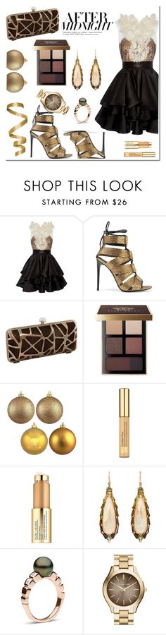 """""""#156 Club Marisa"""" by roohani ❤ liked on Polyvore featuring Marchesa, Tom Ford, J. Furmani, Bobbi Brown Cosmetics, Estée Lauder, Nak Armstrong, Hera and MICHAEL Michael Kors"""
