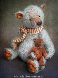 Мишки Тедди ручной работы. Ярмарка Мастеров - ручная работа Булка и Паштет.. Handmade.