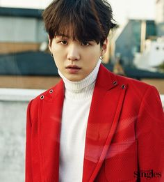 BTS Suga - Singles Magazine January '17