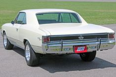 1967 Chevrolet Chevelle Ss396 Tabor Rear Quarter View