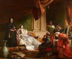 R Charles Robert Leslie - Sancho Panza and the Duchess (original at Petworth House, Sussex, UK)