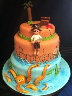 Pirate Cake By faithc24 on CakeCentral.com