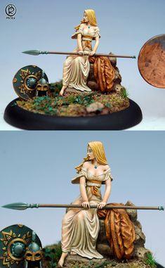 Kriemhild's Revenge by mrika http://www.coolminiornot.com/326035