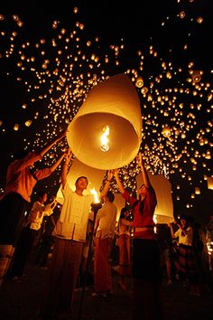 Loi Krathong Festival 2014
