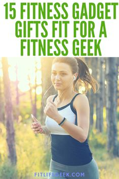 Looking for fitness gadget gifts to give to a fitness geek? This gift guide presents 15 that make fitness training more convenient, fun, and dynamic. #giftideas #fitness #gadgets