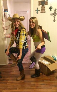 DIY Toy Story Woody Halloween Costume Idea