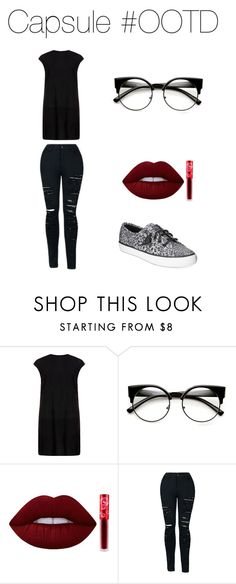 """OOTD - Casual"" by capsulemethod on Polyvore featuring MuuBaa, Lime Crime and Sperry"