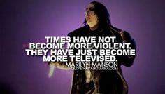 marilyn manson quotes - Bing Images