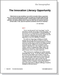the innovation of the ipod innovation assignment marketing essay The uniqueness, innovation in design, simple marketing of the products and high price of the products — these all make the apple more desirable to its consumers it is gradually became a symbol of social status mainly because of its extremely high prices that only who are higher in class can afford.