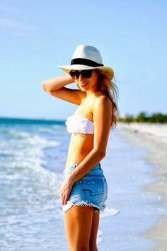 @Katie Schmeltzer Manwaring / Katie's Bliss rocks AEO at the beach!