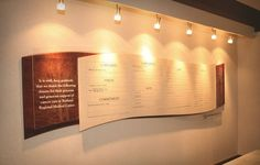 donor recognition walls | Donor Wall Display Systems