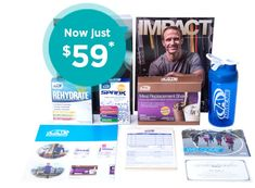 AdvoCare Kit - get a discount on products, your own website, and the opportunity to earn extra income!