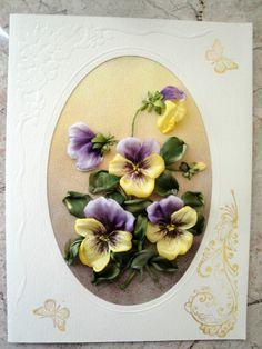 "Gallery.ru / ""Анютины глазки"" - Мои открытки - ludaburd"
