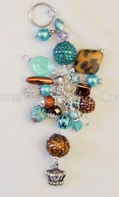 So I have been on another beading roll!!!!! I've spent the last few evenings making more chunky charms/purse charms. I absolutely love Jesse James Beads. They have the most amazing colors. I have amassed quite the collection and am particularly drawn to these bright colors. They make me long for summer time and the beach … Continue reading Chunky Charm Madness →
