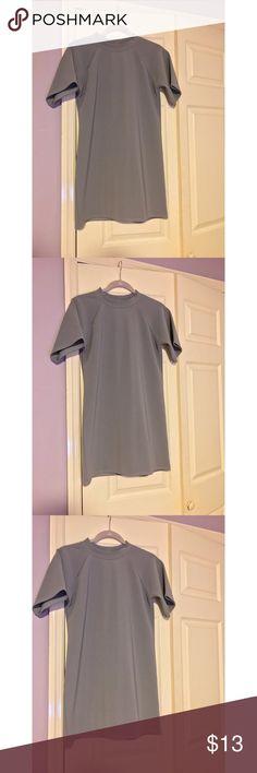 Gray TShirt Dress Xo Missguided Dresses Mini