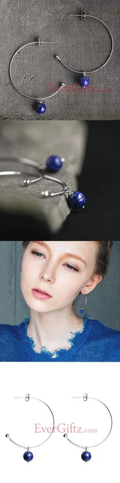 Explore Beautiful Hoop Earrings Design for Women & Girls. Silver Hoop Earrings, Drop Earrings, Women Accessories, Jewelry Accessories, Designer Earrings, Septum Ring, Jewelry Gifts, Piercings, Dangles