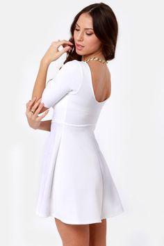 White Confirmation Dresses