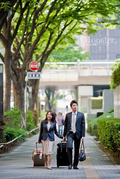Romantic captured On the street | Tokyo , Japan