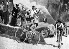 Fausto Coppi é Gino Bartali