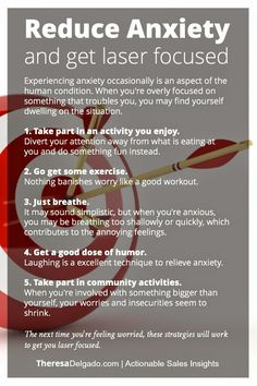 How to get rid of worry and anxiety