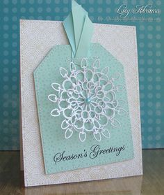 Sparkly Snowflake by Lucy Abrams, via Flickr